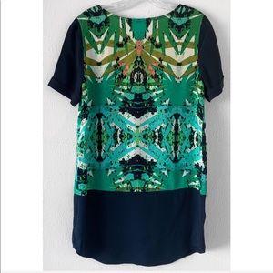Anthropologie Dresses - Sam & Lavi Belem Paradise Green Color SHIFT DRESS